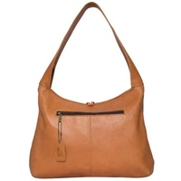THE DESIGN EDGE | Jersey Hairon and Tan Leather Tote - Athens