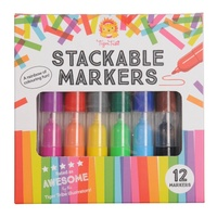 TIGER TRIBE | Stackable Markers 12pk