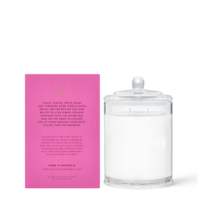GLASSHOUSE | Scented Candle - Over the Rainbow Violet Leaves & White Musk - 380gm