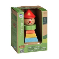 EVEREARTH | Stacking Clown With Red Hat