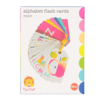 TIGER TRIBE | Alphabet Flash Cards - Neon
