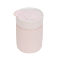 Ceramic Travel Care Cup - Pink