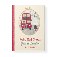 RUBY RED SHOES | goes to London Book
