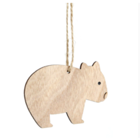 Timber Hanging Wombat