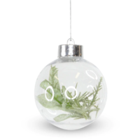 Foliage Bauble - Sage Green