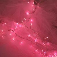 DELIGHT DECOR | Fairy Lights Pink chain - 240 Pin