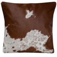 Cushion - Brown Jersey Hairon - Single Panel