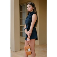 Clutch Wallet - Dallas Jersey Hairon & Tan Leather
