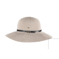 KOORINGAL | Leslie Ladies Wide Brim Hat - Taupe