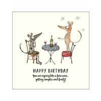 TWIGSEEDS | Card - Happy Birthday. You Are Ageing Like A Fine Wine...