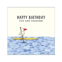 TWIGSEEDS | Card - Happy Birthday You Are Oarsome