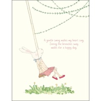 RUBY RED SHOES | Card - A Gentle Swing Makes My Heart Sing