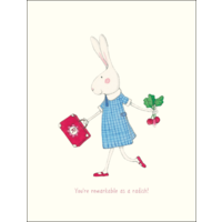 RUBY RED SHOES | You're Remarkable As A Radish!