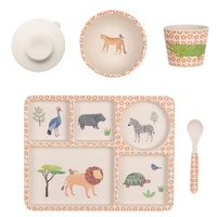 LOVE MAE | Divided Plate Set - On Safari