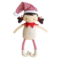 ALIMROSE | Cheeky Girl Elf Rattle - Linen
