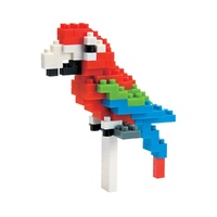 NANOBLOCK | Red and Green Macaw