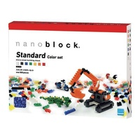 NANOBLOCK | Standard Colour Free Build 800 Piece Set