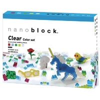 NANOBLOCK | Clear Colour Free Build 800 Piece