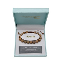 CRYSTAL CARVINGS | Bracelet - Picture Jasper Natural Stone