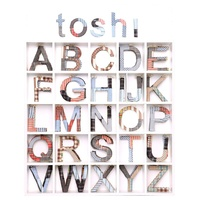 TOSHI | Fabric Covered Letters A-Z - Amigo
