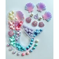 RED BOBBLE | Mermaid Bobble It Yourself Kit