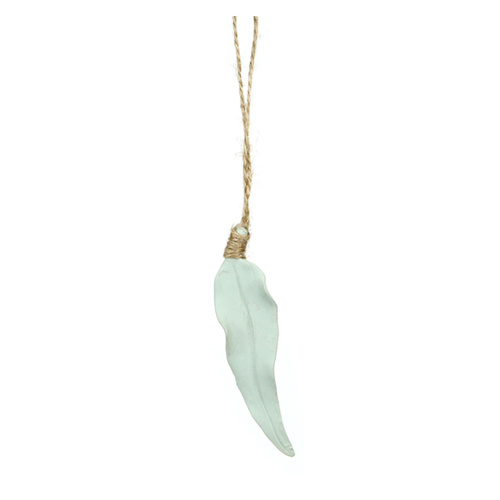 Hanging Gum Leaf - Sage Green