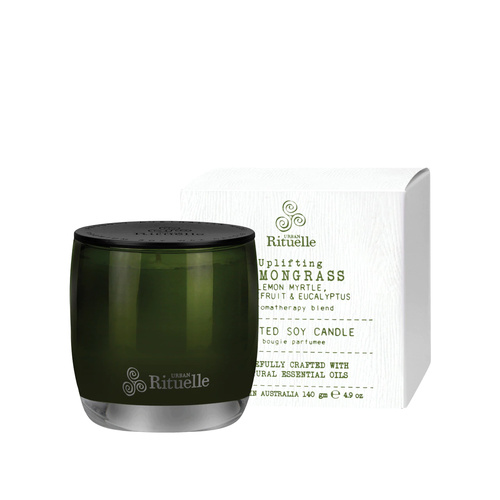 URBAN RITUELLE | Lemongrass- Soy Candle - 140gm