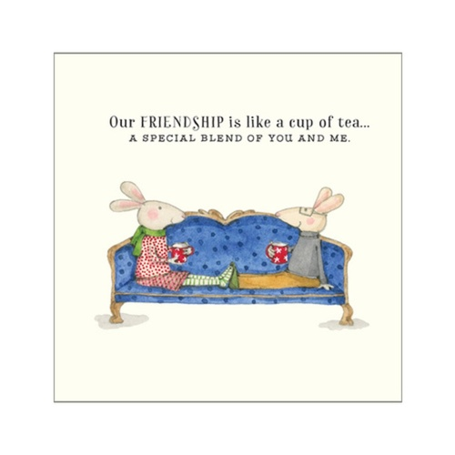 TWIGSEEDS | Card - Our Friendship Is Like A Cup Of Tea