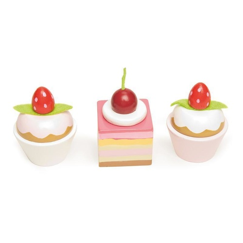 LE TOY VAN | Petits Fours Dainty Painted Wooden Cake Selection